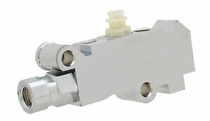 Universal Gm ford mopar Chrome Proportioning Valve For Disc Disc