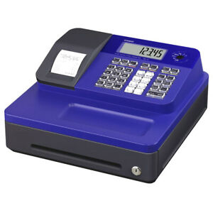 Casio Se g1sc rd Electronic Cash Register Thermal Print Blue