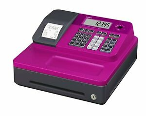 Casio Se g1sc rd Electronic Cash Register Thermal Print Pink