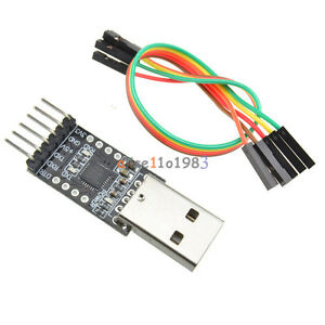 New Cp2102 Usb 2 0 To Uart Ttl 6pin Module Serial Converter Free Cables