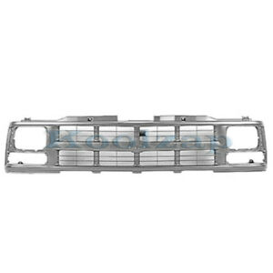 94 02 Chevy C k Fullsize Pickup Truck Grill Grille Assembly Gm1200358 15709236