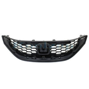 13 14 15 Civic Sedan Front Grill Grille Assembly Textured Ho1200216 71121tr3a01
