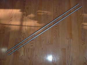 Pair 50 Long 5 8 Diameter Stainless Steel Rails To Build Cnc Router 3d Printer