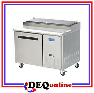 Arctic Air App48r Single Door Refrigerated Pizza Prep Table Holds 6 Pans
