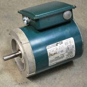 Reliance Electric P56x1441h Ac Motor Hp 1 Rpm 1725 1800 Frame fb56c Used