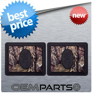 New Pair Of Browning Floor Mats For Rear Auto Truck Suv Outdoors Hunting Fishing