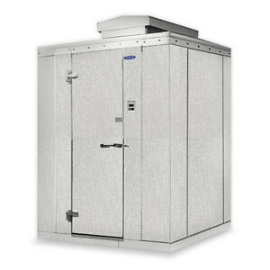 Norlake Nor lake Walk In Cooler 4 x 6 x 7 7 h Kodb7746 c Outdoor W floor