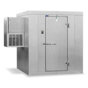 Norlake Nor lake Walk In Cooler 6 x 8 x 7 4 h Klb7468 w Indoor Floorless