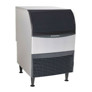 Scotsman Cu1526ma 1 Undercounter Ice Maker W Bin 150 Lbs Medium Cube Air Cool