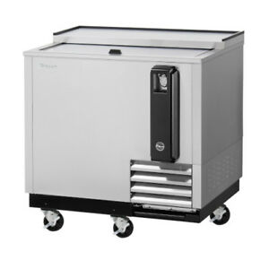 Turbo Air Tbc 36sd 36 Stainless Steel Beer Bottle Cooler Refrigerator