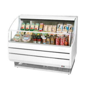 Turbo Air Tom 40sw n Open Display Case Cooler In White
