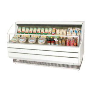 Turbo Air Tom 75sw n Open Display Case Cooler In White