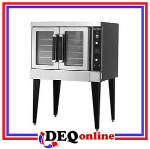 Vulcan Vc4gd Single Deck Gas Convection Oven natural Gas Or Propane