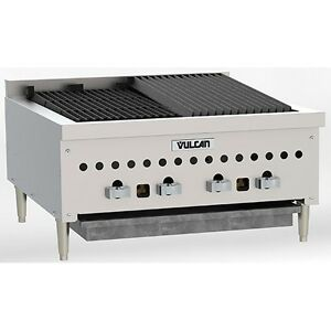 Vulcan Vccb25 Counter Gas Charbroiler 25 1 4 Wide Natural Gas Or Propane