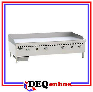 Vulcan Vcrg48 m Restaurant Series Gas Griddle 48 W X 20 1 2 D Griddle Plate