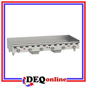 Vulcan Msa72 Heavy Duty Gas Griddle 72 X 24 Griddle Plate ng Or Lp