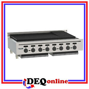 Vulcan Vacb47 Counter Gas Charbroiler 46 3 4 Wide natural Or Lp