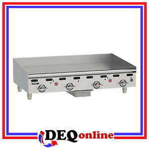 Vulcan Msa48 Heavy Duty Gas Griddle 48 X 24 Griddle Plate ng Or Lp