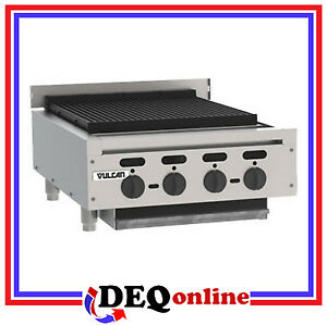 Vulcan Vacb25 Counter Gas Charbroiler 25 3 8 Wide natural Gas Or Propane