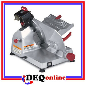 Berkel 825e plus 10 1 4 Hp Manual Gravity Feed Slicer