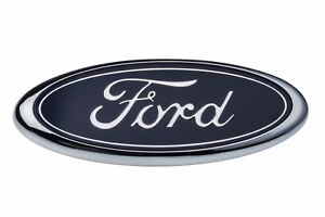 1998 2004 Ford F150 F250 Front Grille Blue Ford Oval Grill Emblem Oem E7tz8213bb