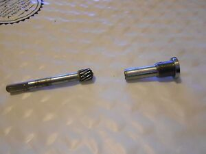 Olympus Bh2 Bhtu Microscope Condenser Gear Shaft Free Us Shipping