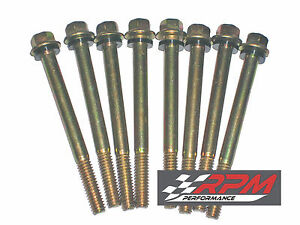 Holley 26 6 Carburetor Fuel Bowl Screws Double Pumper 2 1 2 Long 8 Pack A101x2