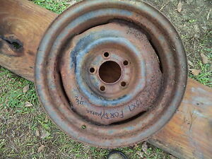 Wheel Dodge Plymouth Chrysler Ford 15 X 7 X 4 1 2