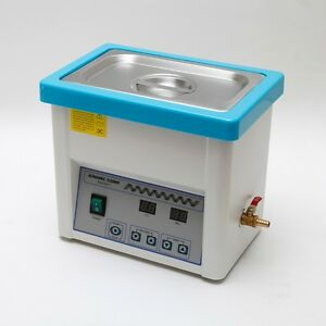 Dental Stainless Steel 5l Liter Industry Heated Ultrasonic Cleaner Heater