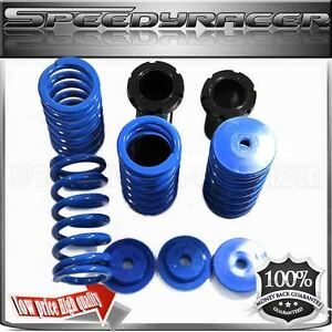 93 97 Del Sol 88 00 Civic 90 01 Integra Blue Coilover Spring Suspension Kit Adj