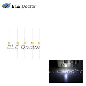 500pcs 1 5mm Diffused White Light Led Diodes Mini High Quality Ultra Bright