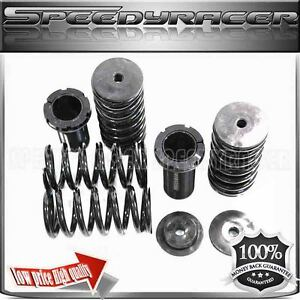 93 97 Del Sol 88 00 Civic 90 01 Integra Black Coilover Spring Suspension Kit Adj