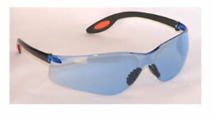 10 Prs Aries Ansi Z87 Safety Shooting Glasses Blue S1012 Free Shipping