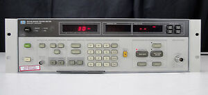 As is Parts Agilent hp 8970b Noise Figure Meter 10 Mhz To 1600 Mhz