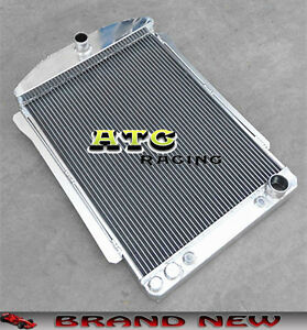 56mm Aluminum Radiator For Chevy Car Street Rod Auto 1940 1941 40 41
