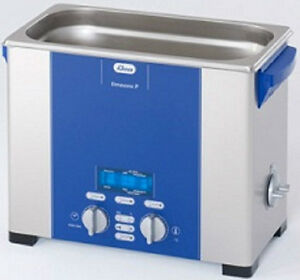 New Elma Elmasonic P60h 5 75 Liter Heated Digital Ultrasonic Cleaner And Basket
