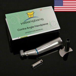 Dental Yabangbang Contra Angle E generator Led Slow Low Speed Push Handpiece