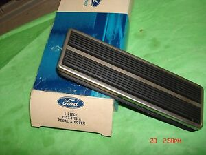C9sz 9735 A Nos Ford Accelerator Pedal Pad And Cover 69 Thunderbird