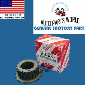 Genuine Oem Toyota Lexus Gs300 Is300 Sc300 Crankshaft Timing Pulley 13521 46040