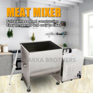 Hakka 40 Pound 20 Liter Capacity Tank Commercial Electric Meat Mixer
