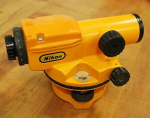 Nikon Ax 1 Automatic Surveyor Level And Case Used
