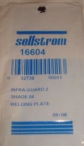 3 Sellstrom Polycarbonate Passive Welding Filter Plates No 16604 Shade 04 Ir pc