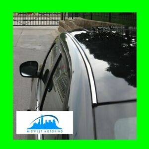 2005 2010 Chrysler 300 300c Chrome Roof Trim Moldings 2pc W 5yr Warranty