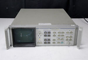 Parts As is Agilent Hp 85662a Spectrum Analyzer If Display