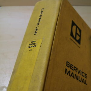 Cat Caterpillar 992c Front End Wheel Loader Repair Shop Service Manual Owner Oem