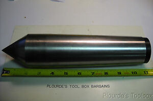 Used Carbide Tipped Dead Center With Morse Taper 6 For Grinder Or Lathe