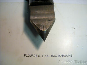 Used Morse Taper Carbide Tipped Relieved Dead Center Mt 6 For Grinder Or Lathe