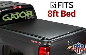 Gator Etx Roll Up Fits 2008 2013 Silverado Sierra 8 Ft Tonneau Bed Cover