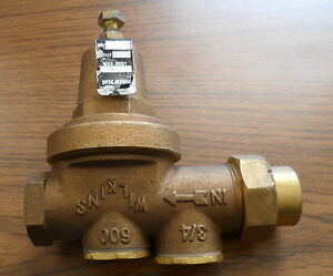 Zurn Wilkins 3 4 Pressure Reducing Valve 300 Psi Part Number Ht