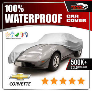 Chevy Corvette Coupe 1973 1978 Car Cover 100 Waterproof 100 Breathable